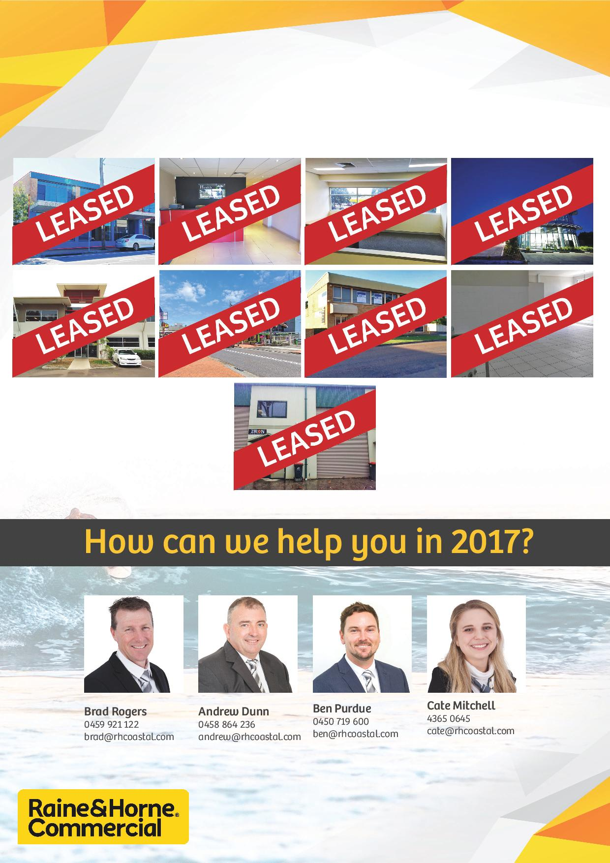 Leased 2016
